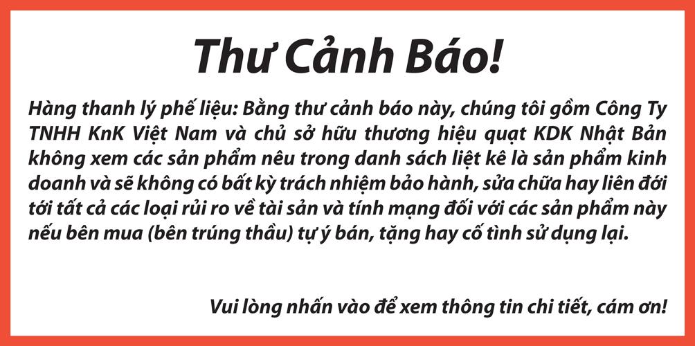 Thu canh bao