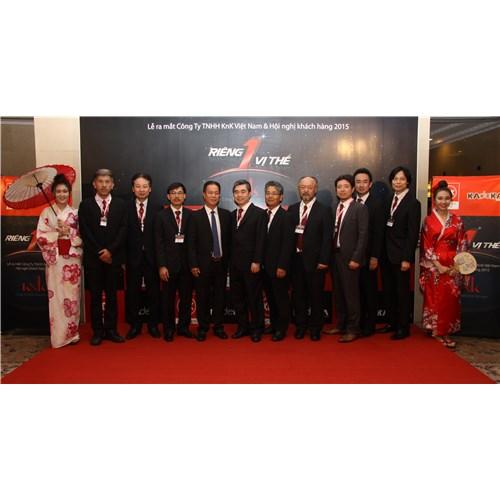 Lễ ra mắt Công ty TNHH KnK Việt Nam & Hội nghị khách hàng 2015