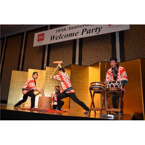Kỉ niệm 105 năm Thương hiệu Quạt KDK tại Nhật Bản