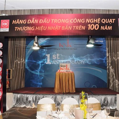 Kỉ niệm 1 năm thành lập KNK Việt Nam