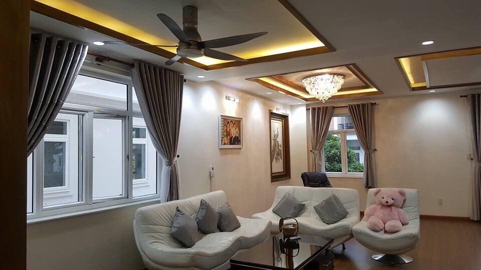 Quạt trần KDK U60FW Có đèn LED 9